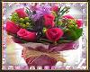 *Jah* Roses Pink Frame