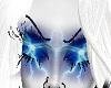 blue glowing eyes