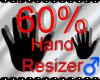 *M* Hand Scaler 60%