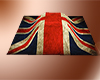 British flag on grave