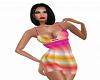 Rainbow Ombre Dress v3