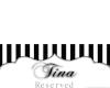 Tina's Place Card