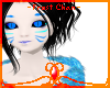 -Frost-Blue kitsune Skin