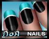 *NoA*Nails Black / Blue