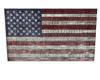 Rustic US Flag art