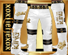 [L] KING Gold Pants M