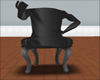 [KD]Black Hug Chair