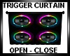 Trigger Curtain Speakers
