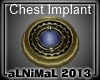 Steampunk Implant M Blue