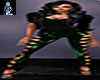 Green Hearts Leggings