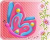 *Ej* Butterfly Sticker *