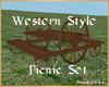 westernstyle picnic set