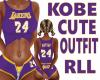 Kobe Cute Outfit RLL P
