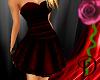 [D] Red Classy Dress