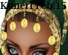(K) Green / gold hijab