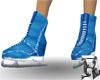 Skates Blue Animated