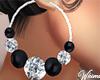 Sparkle Hoops Earrings