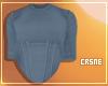 Corset shirt - Blue