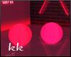 [kk] Red Neon Balls