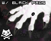 NESkin Paws Black - Mv1