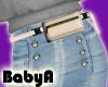 ! BA RLS Cream Belt Bag