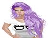 IVEI elin purple hair