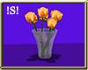 !S! Orange Flowers Vase