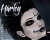 ¤ Dark Harley Hair