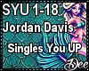 JordanDavis:Singles U Up