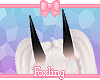 🎀 Tinted Horns Black