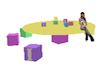 kids table - blocks