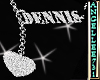 DENNIS  NAME NECKLACE F