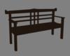Japnese wood bench