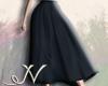 N. Black Long Skirt