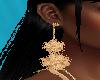 FG~ Gold Puffy Earrings
