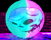 Toxic Glow Skull Chair