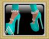 (AL)Neon Blue Shoes