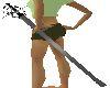 Blk Slv Rapier Sword   F