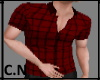 [C.N] Style Shirt Red