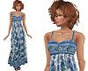 TF* Modest Blue Sundress
