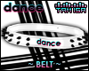 ! DANCE Spiked Belt