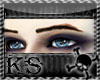 Goth Small Blue Eyes