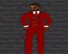 Red Full Suit