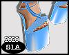 S|Glamour\Blue|Heels