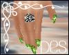 (Des) St Patricks Nails