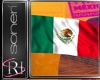 Mexico animate flag