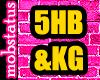 [MJ] 5HB&KG Headsign