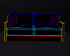 neon couch