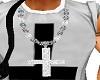 Diamond Cruz Necklace