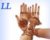 LL: Henna hands